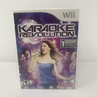 Karaoke Revolution Big Box Bundle with Microphone Nintendo Wii Brand New Sealed