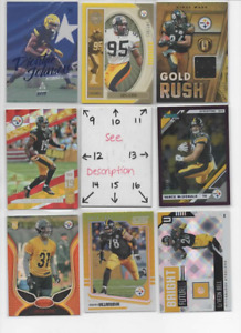 Pittsburgh Steelers LOADED U-PICK Serial #'d Jersey Auto Rookies JUJU BIG BEN AB
