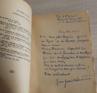 Envoi Auteur : Jean Gabriel Lemoine - les Peintres PRIMITIFS - Bordeaux 1952