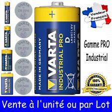 Piles VARTA PRO BULK LR20 LR03 LR6 LR14 6LR61 CR2450 CR2430 CR2032 CR2025 CR2016