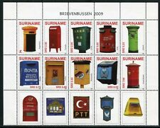 SURINAM 2009 Briefkästen Post Boxes 2281-2290 ** MNH