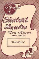 "Barbara Cook ""FLAHOOLEY"" Yma Sumac / Bil Baird 1951 FLOP World Premiere Playbill"