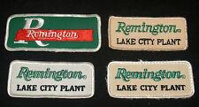 VINTAGE LOT ADVERTISING REMINGTON LAKE CITY PLANT AMMUNITION AMMO UNIFORM PATCH