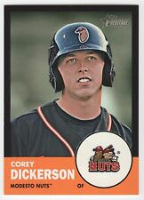 COREY DICKERSON 2012 Topps Heritage Minor League BLACK BORDER ROOKIE #73/96- TB