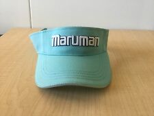 New MARUMAN Golf Visor CONDUCTOR/MAJESTY - Dark Turquoise
