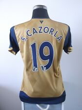 S. Cazorla #19 Arsenal Camisa De Fútbol Lejos Jersey 2015/16 (M)