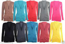 Unbranded V Neck Waist Length Jumpers & Cardigans for Women