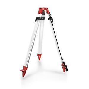 Stativ für Nivelliergerät Laser Nivellierstativ bis 1,63 m Baustativ Alustativ