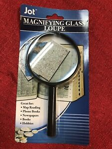 Jumbo Magnifying Glass - Hand Held New Sewing Hobbies Reading Maps