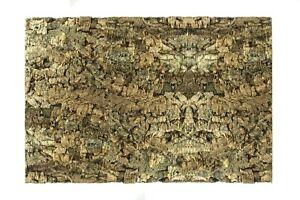 XL Natural Cork Bark Background Wall Reptile Terrarium Vivarium 90x60cm