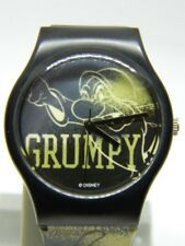 DISNEY  RARE SNOW WHITE GRUMPY  WATCH ALL WEATHER BAND