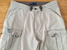 BKE XL Men's Cargo Beige  Khaki Casual Pants,stylish, Mint!