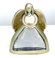 Hallmark Gold Angel That Light Up Stating Thank for You.Cell Batteries Installed