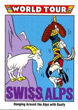 DISNEY COLLECTOR CARD, WORLD TOUR, SWISS ALPS, JAPAN # 193, MINT CONDITION