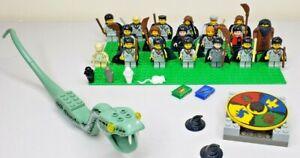 Huge Bulk LEGO HARRY POTTER Minifigure Lot w/ Accessories Harry ~ Hagrid ~ Snape