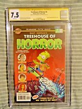 Bart Simpsons Treehouse Of Horror #5 Signed by Bill Morrison and Scott Shaw CGC