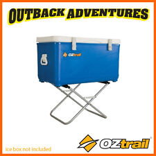 OZtrail FRIDGE STAND PORTABLE FOLDING CAMPING FRIDGE STAND - 60 KG WEIGHT RATED
