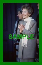 RARE 1984 TRANSPARENCY NEGATIVE RONALD REAGANS WIFE NANCY REAGAN GALWAY IRELAND