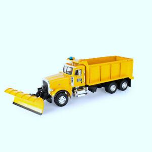 Tomy Light & Sounds Peterbilt 1:16 Scale Model 367 Truck w/ Dump Box & Snow Plow