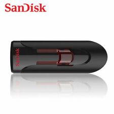 SanDisk Cruizer Glide 3.0 256 Go Clé USB - Noir (SDCZ600-256G-AC25)
