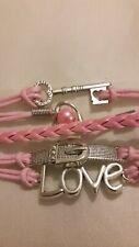 Pink Love Bracelet