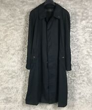 Upcycled Blackyoto X Burberry Black Trenchcoat with Removable Novacheck Lining