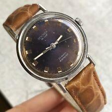 Sekonda De Luxe Vintage Purple Dial Soviet Export Men's Formal Watch USSR Poljot
