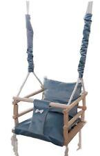 Swing Seat 3 In 1 Wooden Safety Swing Kids Swing Baby Swing Toddler Chair Swing