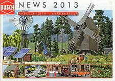 Busch News Catalogue - 2013