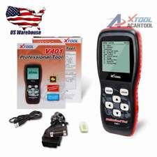 XTOOL V401 OBD2 OBDII ABS SRS Engine DTC Code Reader Diagnostic Scanner Tool US