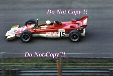 Dave Walker Gold Leaf Team Lotus 56B Dutch Grand Prix 1971 Photograph 2