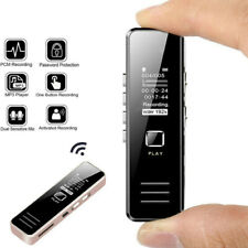 Rechargeable Digital Audio/Sound/Voice Recorder Dictaphone MP3 Player New *