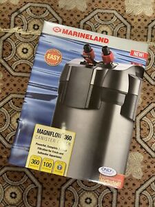 Marineland Magniflow Canister Filter For aquariums, 360 GPH, Up To 100 Gallon