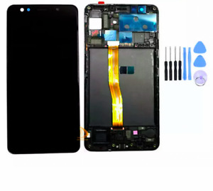 For Samsung Galaxy A7 2018 A750 Genuine LCD Display Screen Digitizer + Frame