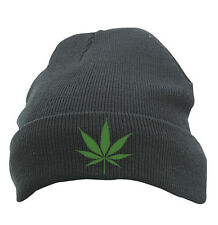 Original Schwarzmarkt Knitted Cap Cap Beanie Hat Model Cannabis; Obey KING WEED