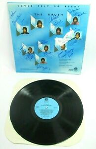The Krush Never Felt So Right Hawaii Sounds LP Jazz Modern Soul 1982 Autographed