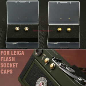 Leica Flash Socket Caps (2020 Upgrade )For Leica M3/M2/M1/MD  Flash Socket Cover