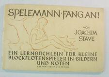 Spielmann fang an Joachim Stave Bärenreiter Ausgab 1238 Noten & Texte B14621