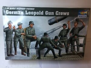 Trumpeter  00406 1 35 Leopold German WW2 Railway Gun Crew   - Factory Sealed