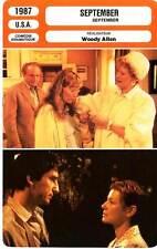 FICHE CINEMA : SEPTEMBER - Stritch,Elliott,Farrow,Waterston,Allen 1987