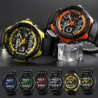 SKMEI Men Quartz Digital Watch Sports S-Shock LED Waterproof Wristwatches