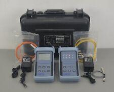 Exfo Fot 90a Fiber Optic Power Meter Fot 92a A Fls 210b Light Source Fls 210b A