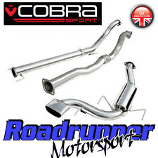 "Cobra Sport Astra VXR MK5 3"" Turbo Back Exhaust System Non Res & De Cat (VZ07d)"
