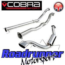 "Cobra Sport Astra VXR MK5 3"" Turbo Back Exhaust System Non Res & De Cat (VZ07d)"