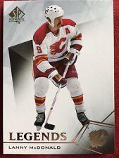 2015-16 UD SP Authentic Hockey Legends Lanny McDonald #120