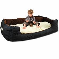 Lammfell Imitat Tierbett XXL 1,2m Hundebett Katzenbett Hundekorb Hundekissen NEU