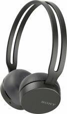 NEW! SONY WH-CH400 BLACK WIRELESS BLUETOOTH OVER-THE-EAR HEADPHONES WHCH400