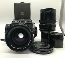 [ N MINT ] ZENZA BRONICA S2 6X6 Medium Format Camera w/ 50mm + 200mm Lens JAPAN