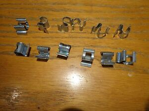 68-70 Mopar B Body Road Runner Charger Headliner Interior Trim Clips 12