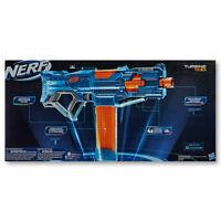 Nerf Elite 2.0, Turbine CS-18 Motorised Blaster, 36 Official Nerf Darts For Xmas